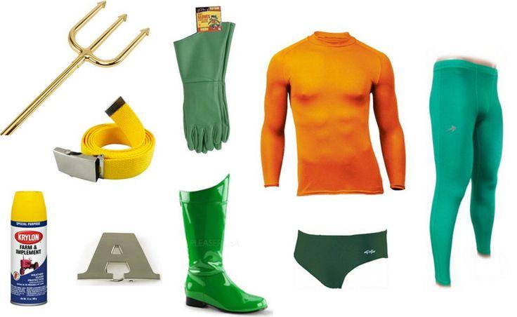 DIY How To Make An Aquaman Halloween Costume