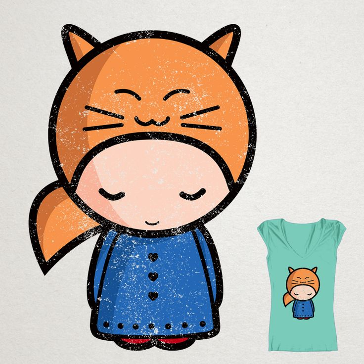 Please vote for the contest on Threadless: https://www.threadless.com/designs/kawaii-girl-sarah/  Sarah will thank you with eternal love!