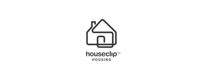 10-house-logo-design.gif 660×260 pixels | Logo Design Inspiration ...