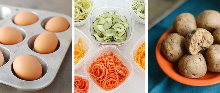 A little planning ahead will ensure you're making healthy choices all week. Steal these brilliant meal prep ideas for portion control and cooking in bulk.