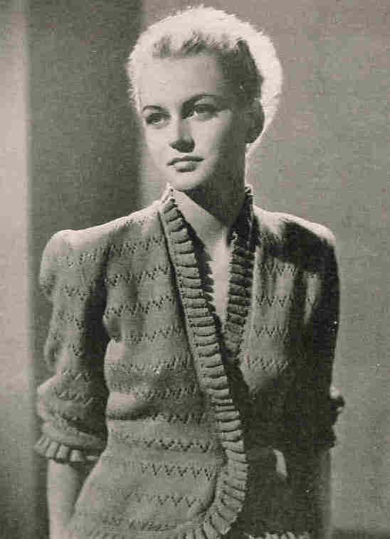 1950 Cardigan Vintage Knitting Pattern Bed by PamoolahVintage, $3.50