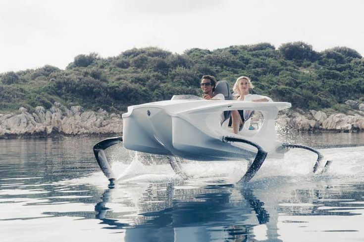 environmentally friendly, electric hydrofoiling quadrofoil watercraft
