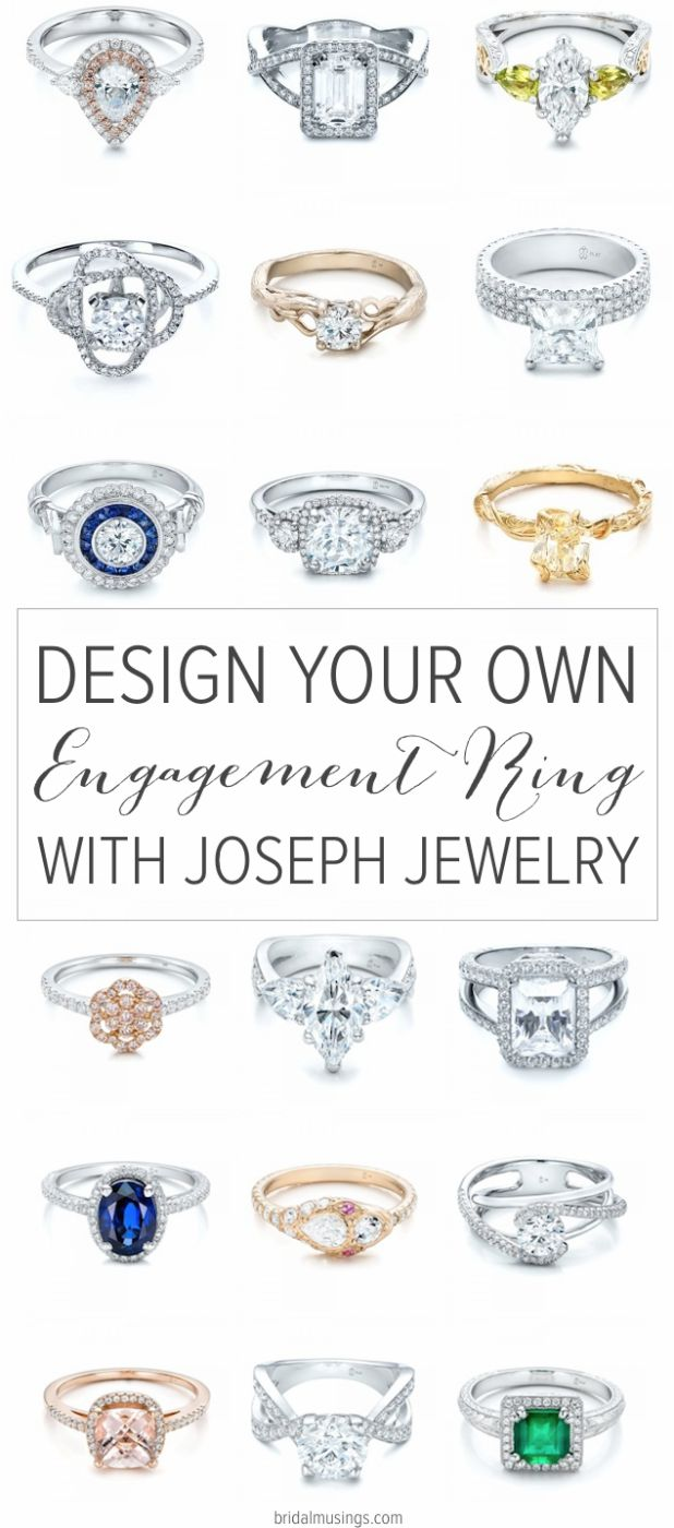 Design Your Own Engagement Ring With Joseph Jewelry