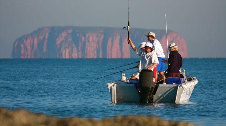 Cruising The Kimberley, A stunning afternoon on the Kimberley Coast fishing, one of our six ocean surveyed tenders. #thekimberley #fishing #fish #northstarcruises #wilderness #adventure #luxurytravel