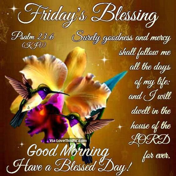 Morning Blessing Quote: 44 Best Friday Blessings Images On Pinterest