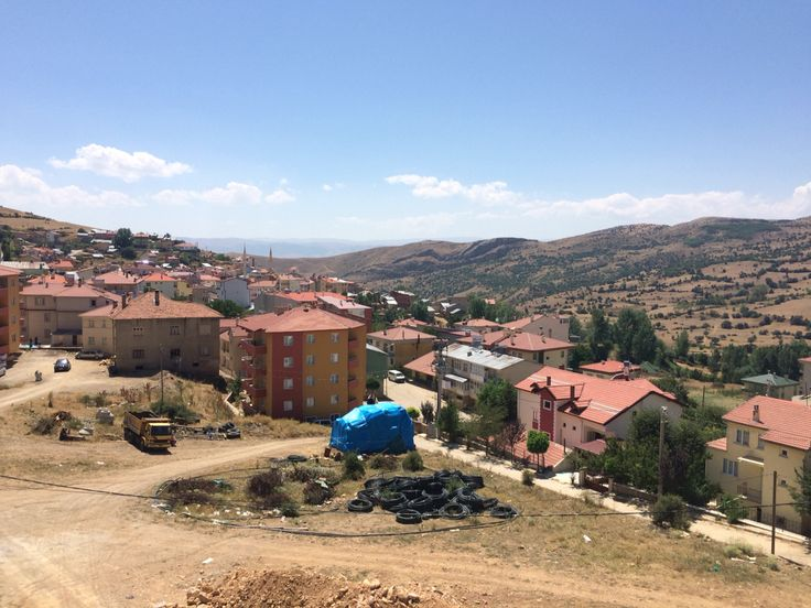 A photo that I took during the summer holidays and I captured a photo of my village #pekün