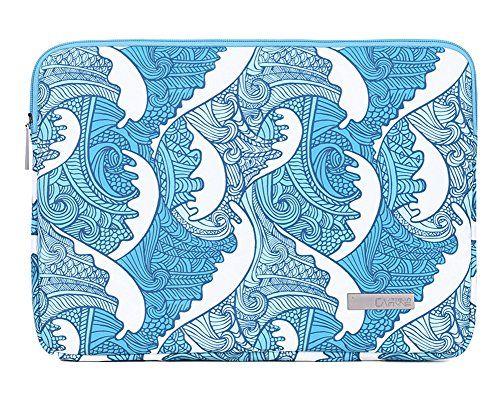 72bb100014 Impression de fleurs Housse de Protection pour Ordinateur Portable MacBook  iPad Surface Laptop Sac à main