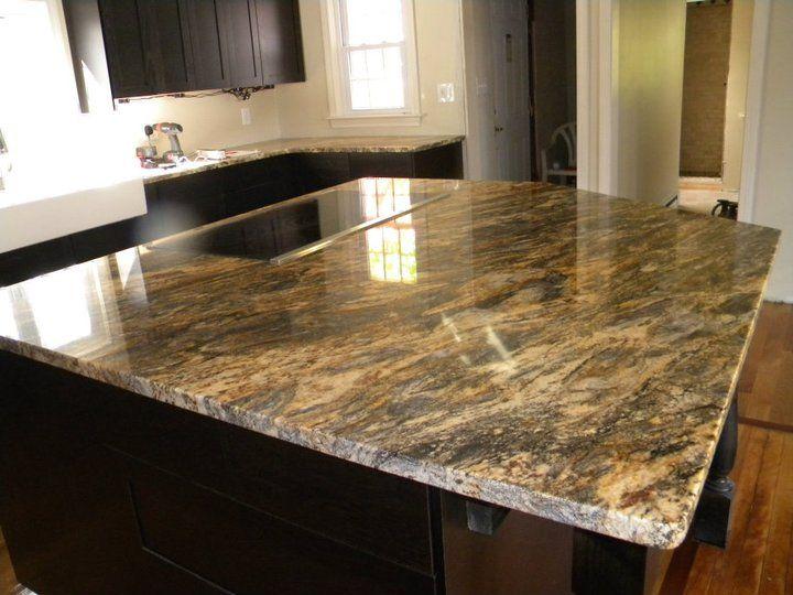Granite Color Kitchen Countertops And Cabinets