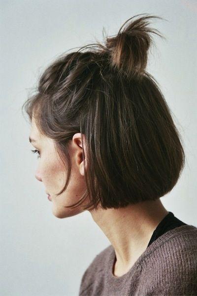 Peinados lindos para esos días que no tienes ganas de bañarte