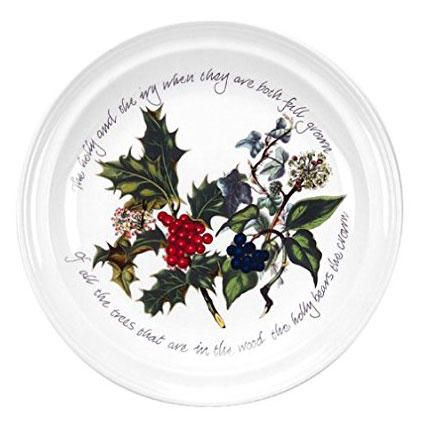 Christmas China Patterns You'll Love for Your Southern Home: Portmeirion 'The Holly & The Ivy'