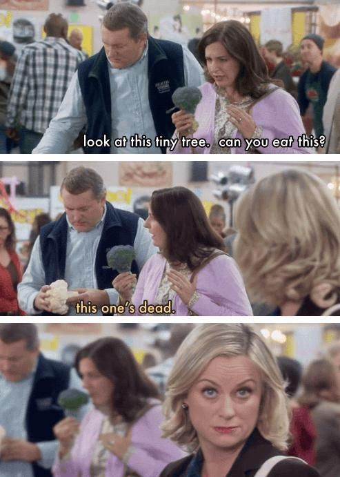 This one's dead ~ Farmer's Market ~ Parks and Recreation