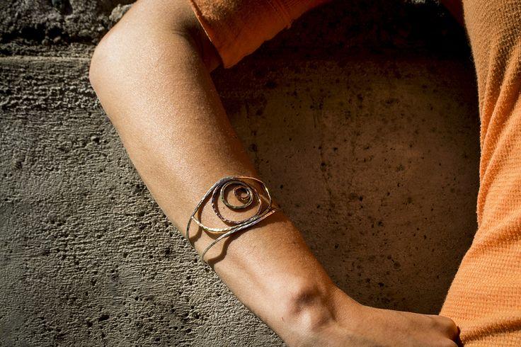 esclava silver+bronze+copper www.fuga.cl