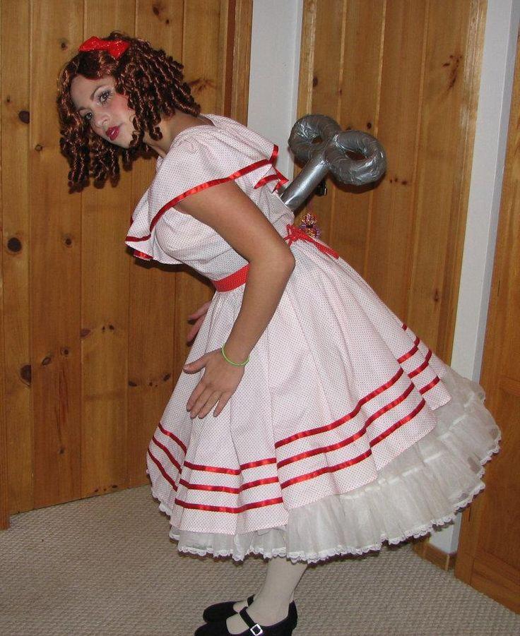 Wind-up Doll - Halloween Costume