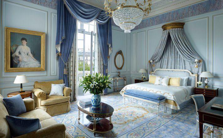 Blue bedrooms master bedrooms paris hotels bedrooms decor luxury