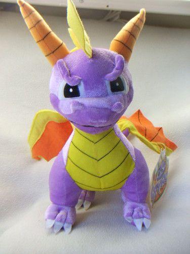 "SPYRO The Dragon 2004 12"" Plush Stuffed Character from Universal Studio w/Tags"