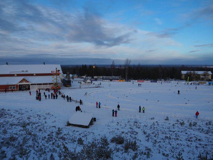 Central area of Jämi ❄ Jämin keskusalue #jämijärvi #winterwonderland www.jamijarvi.fi