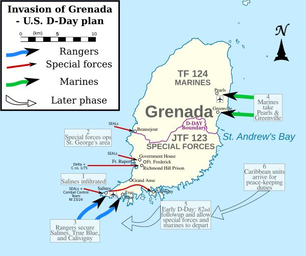 Invasion of Grenada - Wikipedia, the free encyclopedia