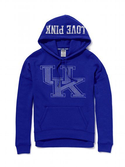 Victoria's Secret PINK University of Kentucky Slouchy Bling Hoodie #VictoriasSecret http://www.victoriassecret.com/pink/university-of-kentucky/university-of-kentucky-slouchy-bling-hoodie-victorias-secret-pink?ProductID=82575=OLS?cm_mmc=pinterest-_-product-_-x-_-x