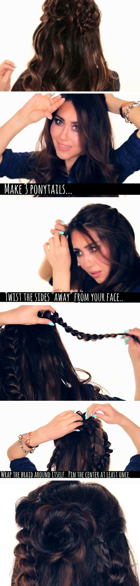 Christina ferrare hairstyle products used - 15 Easy Diy Prom Hairstyles For Medium Hair