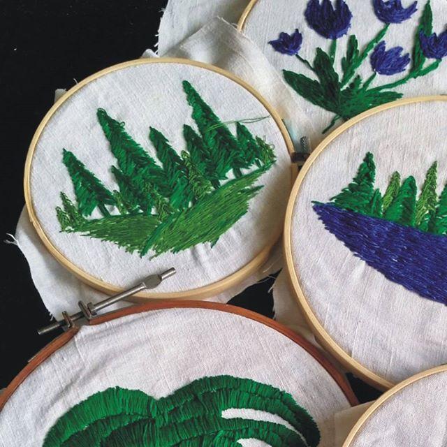 Forrest Embroidery https://www.facebook.com/oplotki/
