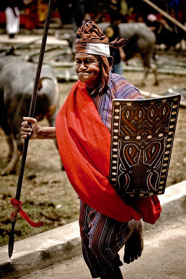 Torajan village elder