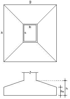 CALCULO PARA Volume de concreto em uma sapata isolada | E-Civil