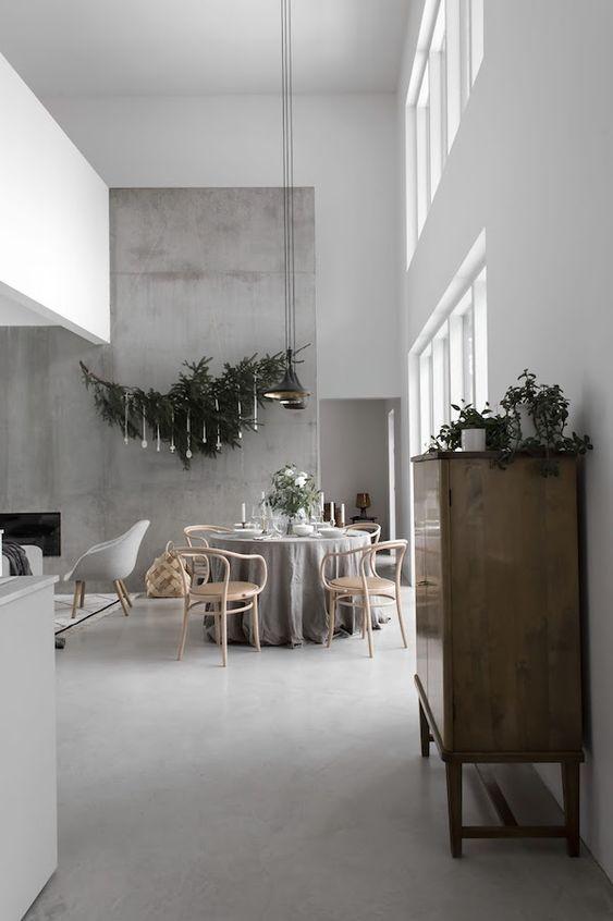 Sol béton ciré plafond design suspension métallique canapé gris et tapis design dintérieur pinterest plafond design sol beton et canapé gris