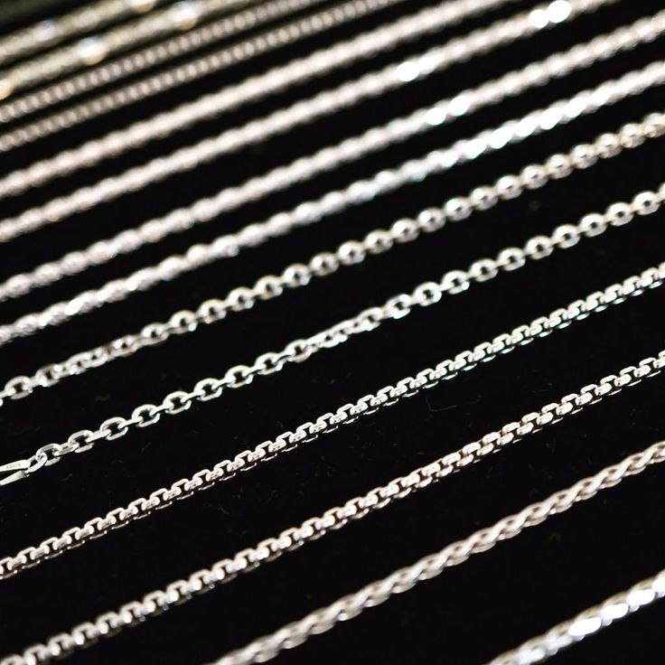 We have silver and gold chains of any style and length. Perfect gifts for your recent graduate!  #Pickerington