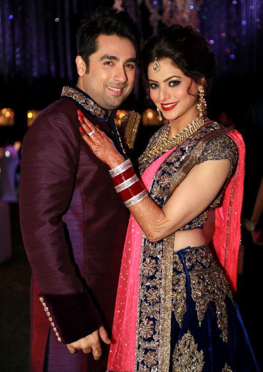 Aamna Sharif got married to her producer-distributor boyfriend Amit Kapoor on December 27. The reception was held the next day at Taj Land's End hotel in Bandra, a western suburb of Mumbai.