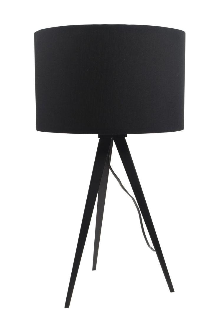 Tripod tafellamp - Zuiver - zwart