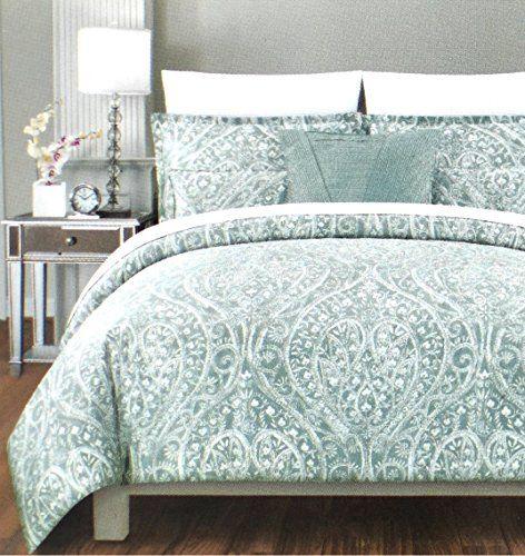 tahari home luxury duvet cover bohemian style paisley pri http - Comforter Covers