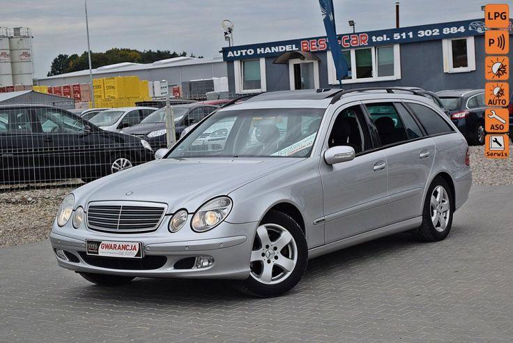 Mercedes E 200 - Gwarancja VIP Gwarant Service,  W211, Kompresor,  Automat, GAZ LPG!