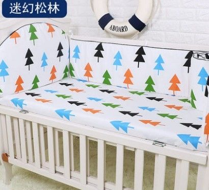 42.80$  Watch now - http://ali0ac.shopchina.info/1/go.php?t=32692008964 - Promotion! 5PCS Pink Infant Baby Bedding Set For Girl Boys Bedding Set Kids Baby Bed Bumper ,include:(bumpers+sheet)  #buyonline