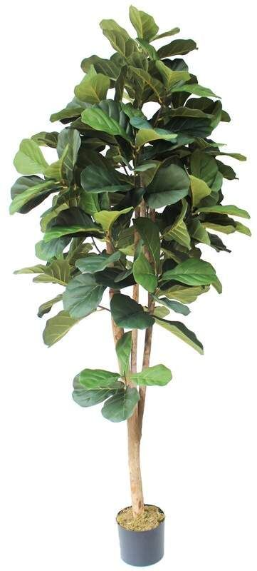 Silk Fiddle Leaf Fig Tree in Pot  – Products