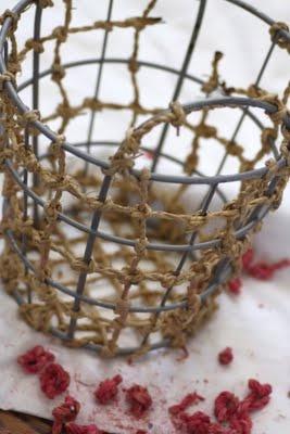 <3: Cesta Baskets, Metals Work, Bakarsın Ben, Wire Stuff, Baskets Cases, Cestas Baskets, Wire Art, Wire Baskets, Beautiful Embellishments
