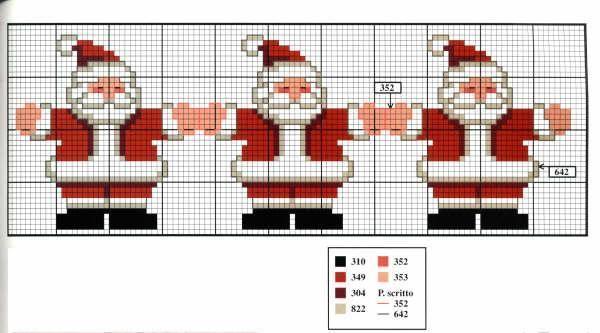 Bordado Passo a Passo: Bordados de Natal