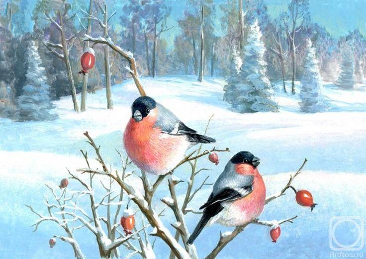 Рогулина Наталия. Снегири