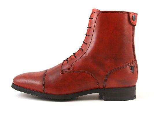 celeris Alba vermelho | Botas de Equitação por medida