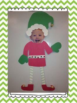 Elf Yourself {Christmas craftivity and activities} by Megan Astor | Teachers Pay Teachers