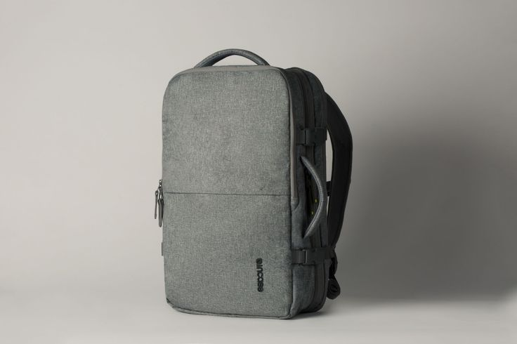 """Incase EO Travel Backpack. Weather-resistant and fits your 17"""" laptop in a compartment designed for quick and easy airport screening."""