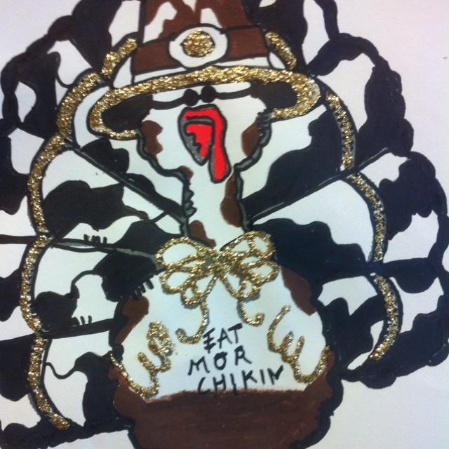 Turkey disguise! (chik filet cow)