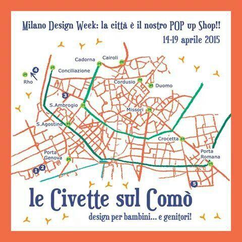 Kids design week in Milano #Popupshopcivette #lecivettesulcomo #expo2015