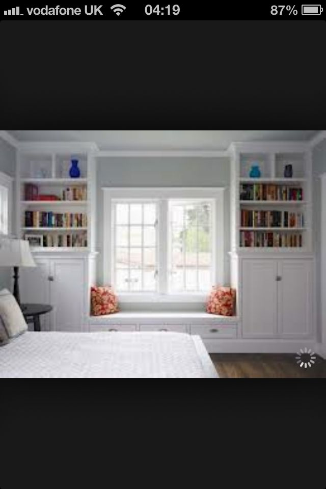 Like the space around the window moulding to allow wall paint to peek through.