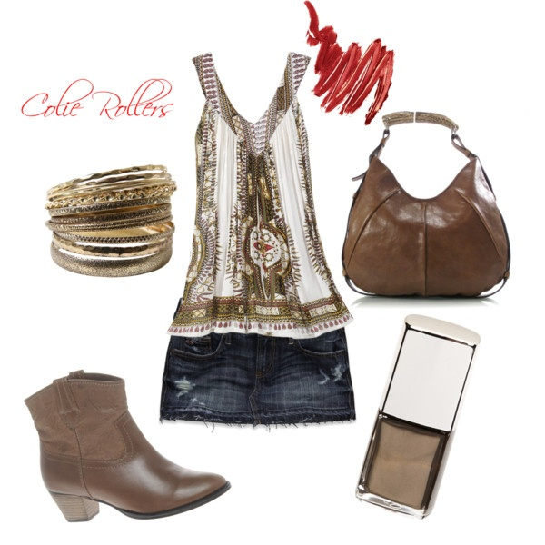 Country Boho, created by colierollers on Polyvore