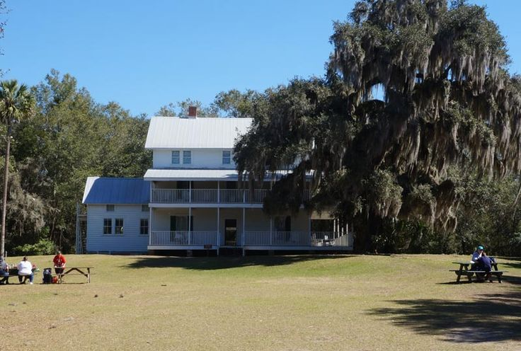 Thursby House at Blue Spring National Park Florida.