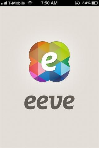 eeve - ios splash screen, mobile app design, iphone app    ----BTW, Please Visit:  http://artcaffeine.imobileappsys.com