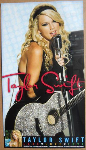 TAYLOR SWIFT - LOVE LOVE LOVE 8.5x15 POSTER