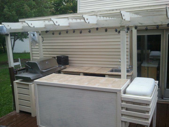 New Outdoor Kitchen Ana White Diy Outdoor Kitchen Diy Kitchen Projects Outdoor Kitchen