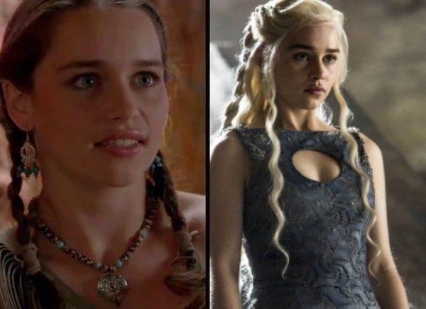 Emilia Clarke (Daenerys Targaryen) - The 'Game of Thrones' Cast Then and Now - Zimbio