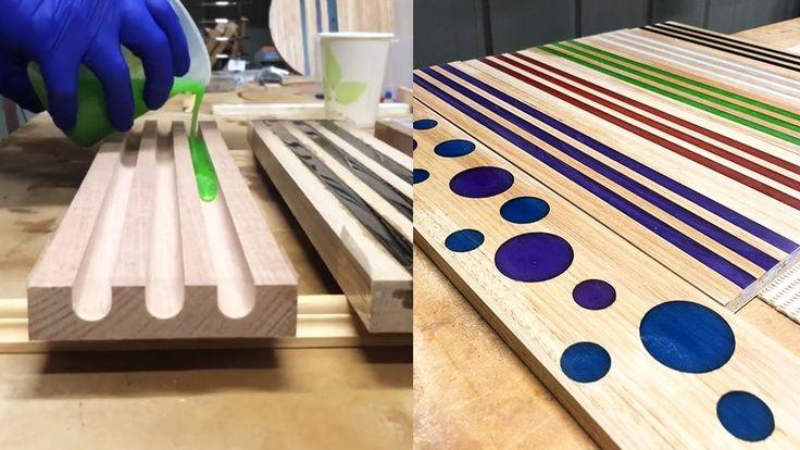 Große handgemachte kundenspezifische Holzarbeit und Holzdekor für das Haus
